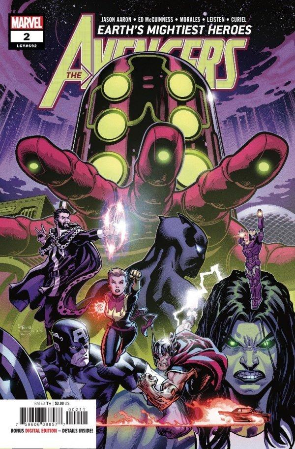 The Avengers #2 4th Printing Marvel NM Comics Book