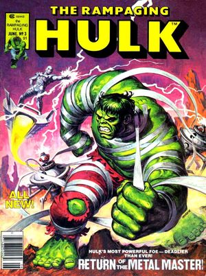The Rampaging Hulk #3