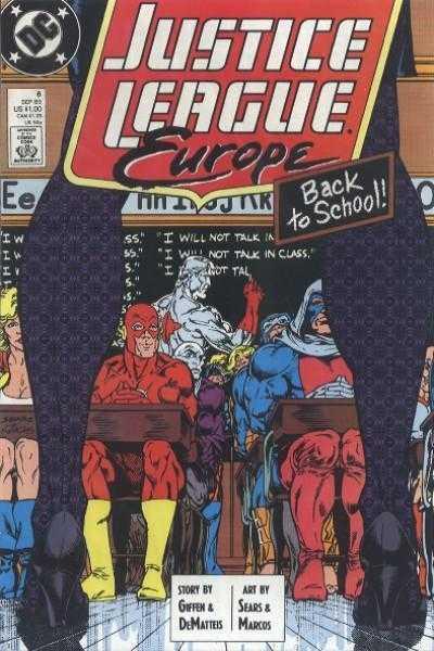 Justice League Europe #6