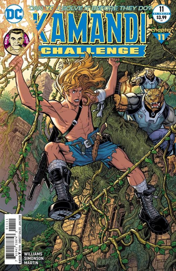 The Kamandi Challenge #11
