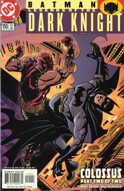 Batman: Legends of the Dark Knight #155