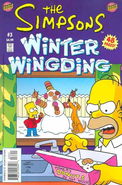 The Simpsons: Winter Wingding #3