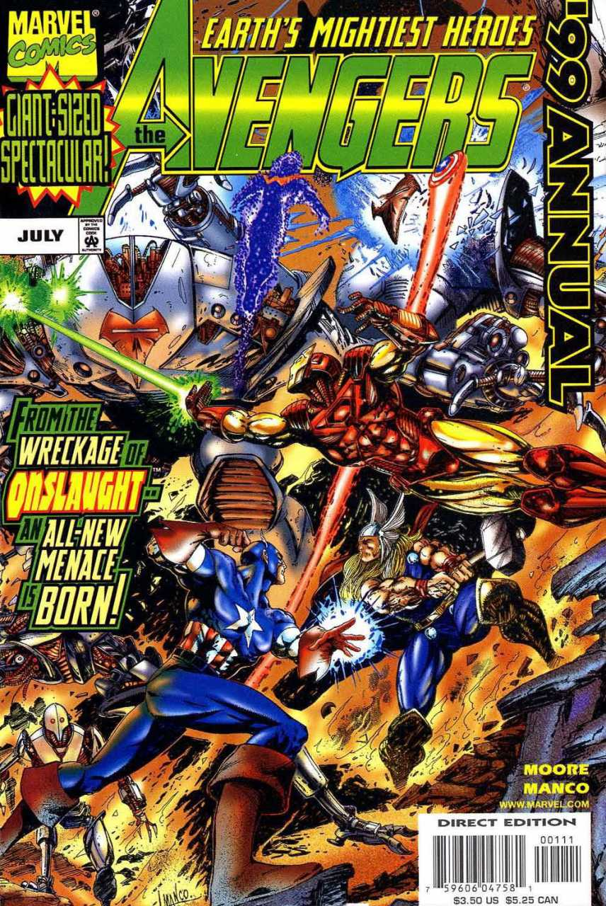 The Avengers Annual 1999