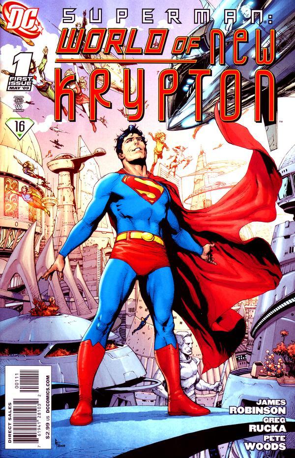 Superman: World of New Krypton #1