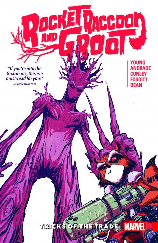 Rocket Raccoon and Groot Vol. 1: Tricks of the Trade TP