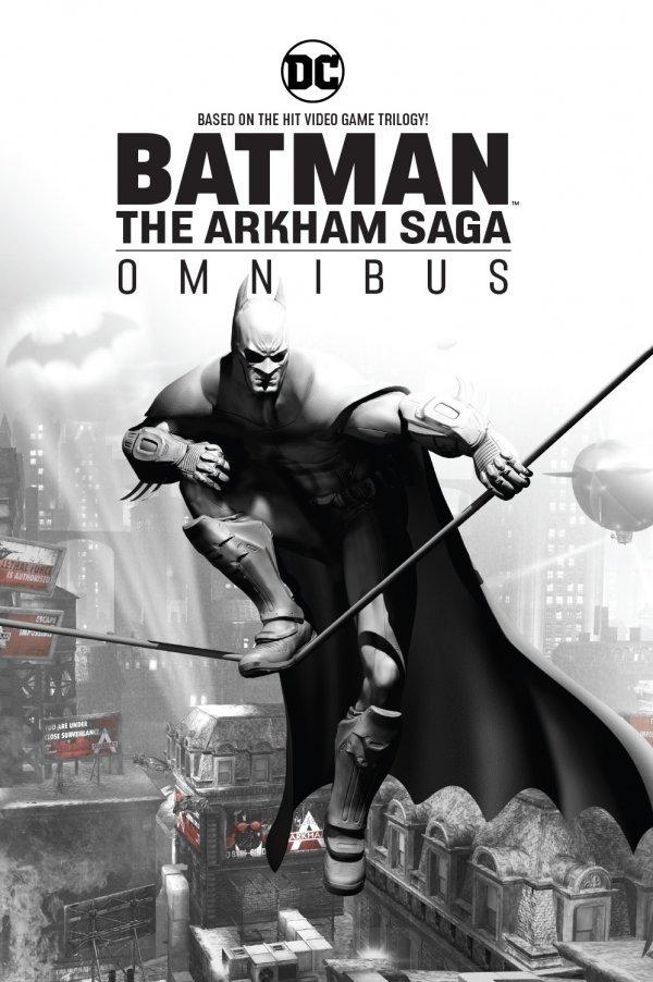 Batman Arkham Saga Omnibus HC
