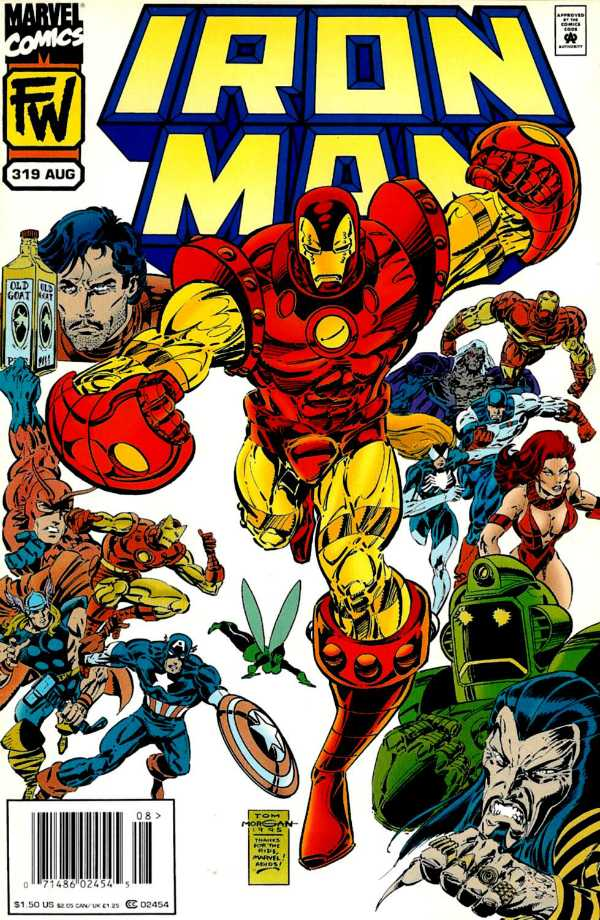 Iron Man #319