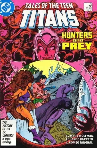 Tales of the Teen Titans #74