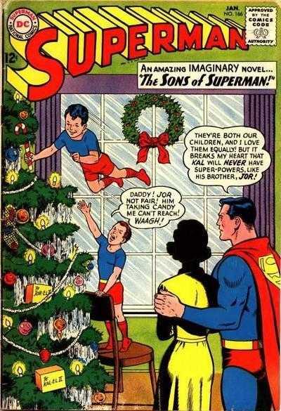 Superman #166