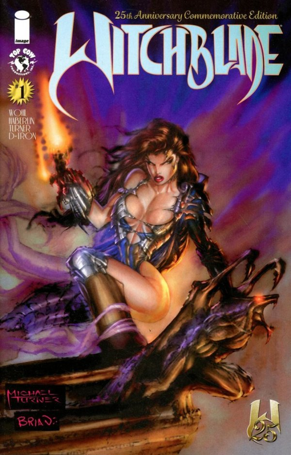 Witchblade: 25th Anniversary Edition #1 review