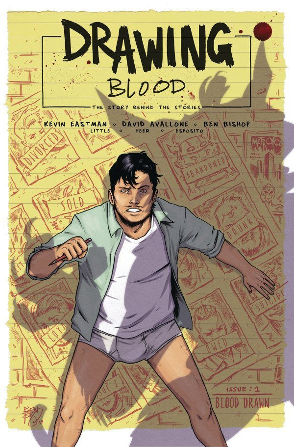 Drawing Blood Splilled Ink #1 review