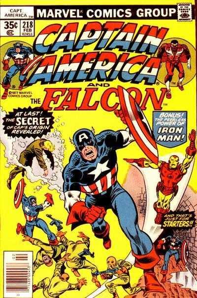 Captain America #218