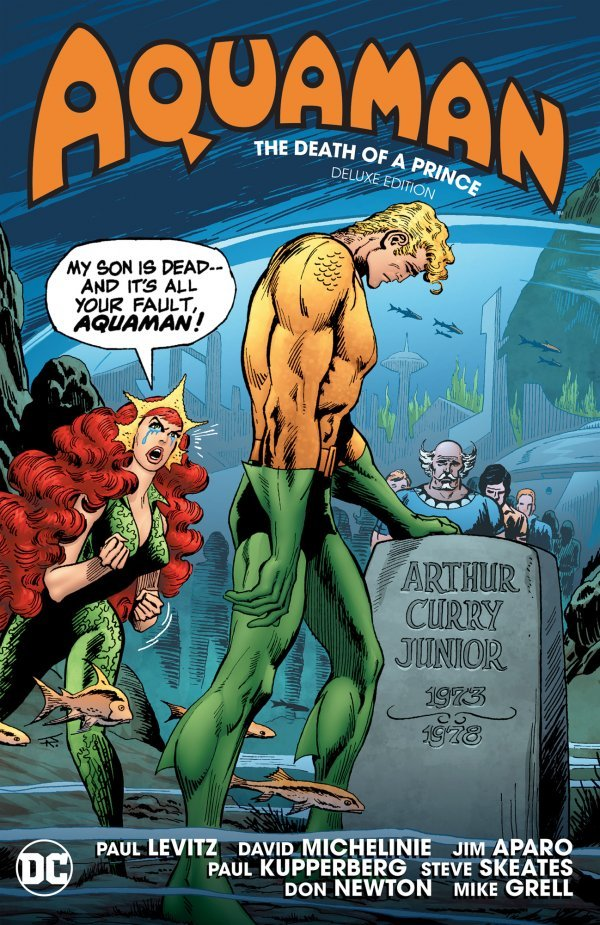Aquaman: Death of a Prince Deluxe Edition HC
