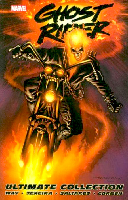 Ghost Rider By Daniel Way Ultimate Collection TP