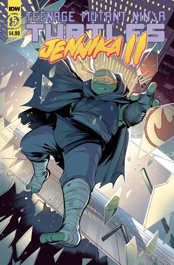 Teenage Mutant Ninja Turtles: Jennika II #5