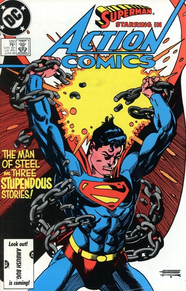 Action Comics #580