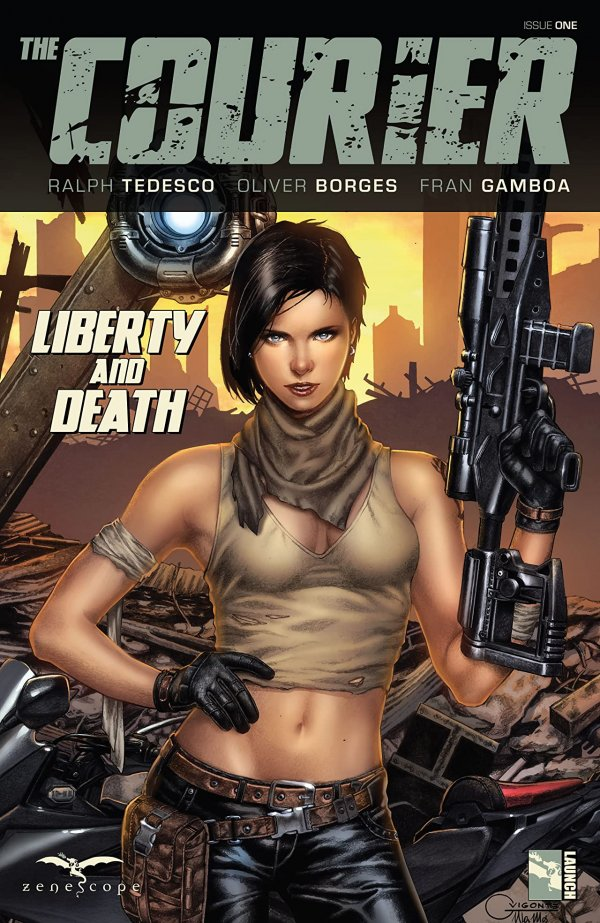 Courier Liberty & Death #1