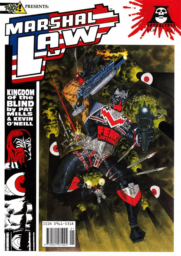 Marshal Law: Kingdom of the Blind #1