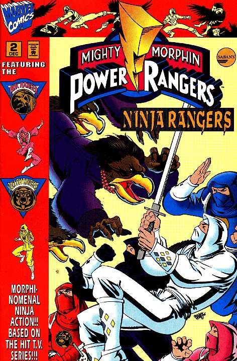 Mighty Morphin Power Rangers: Ninja Rangers / VR Troopers #2