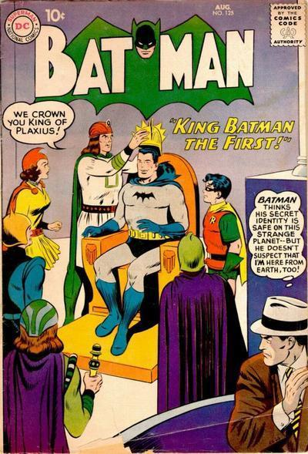 Batman #125