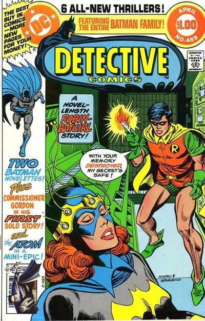 Detective Comics #489