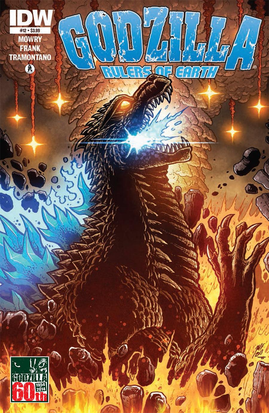 Godzilla: Rulers of Earth #12