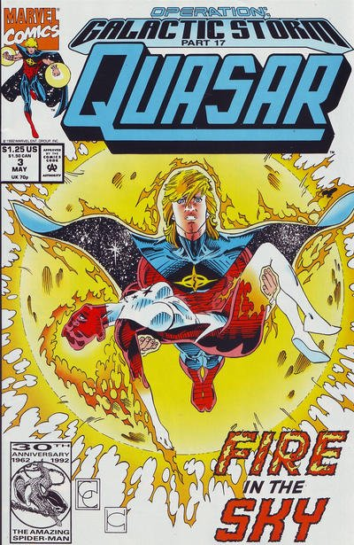 Quasar #3 (Direct Version of Issue #34 for Galactic Storm Crossover)