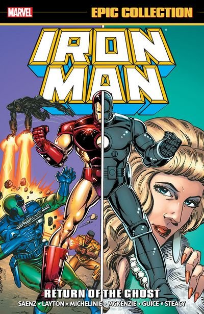Iron Man Epic Collection: Return of the Ghost TP