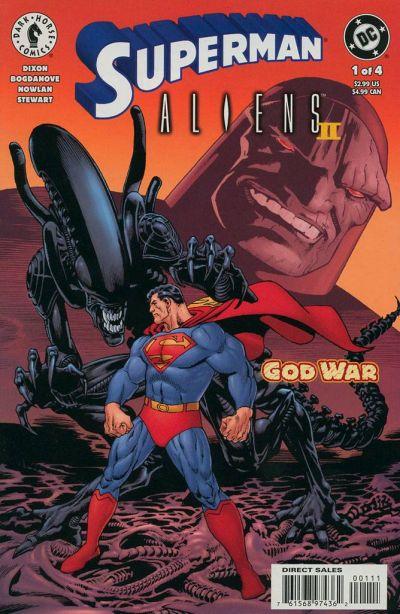 Superman Aliens II #1