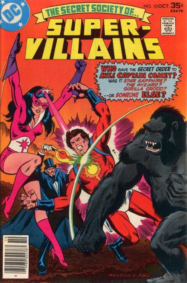 The Secret Society of Super-Villains #10