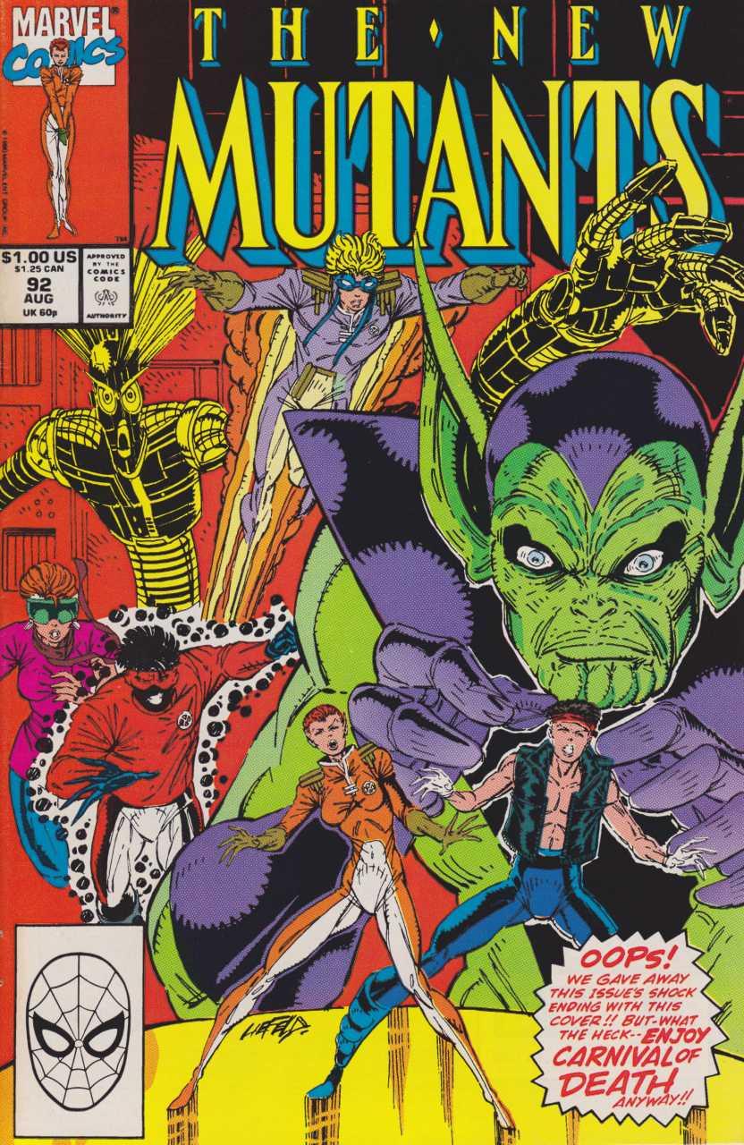 The New Mutants #92