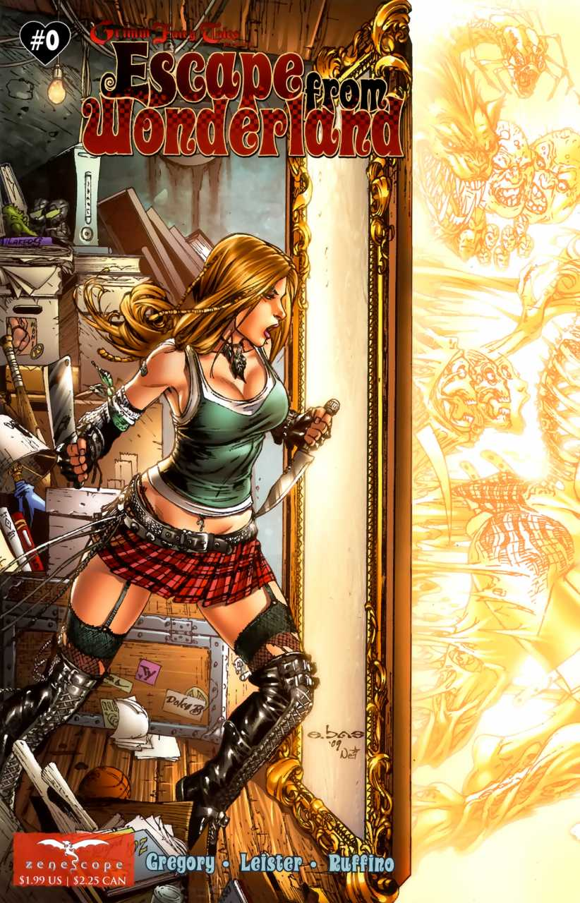 Grimm Fairy Tales Presents Escape from Wonderland #0