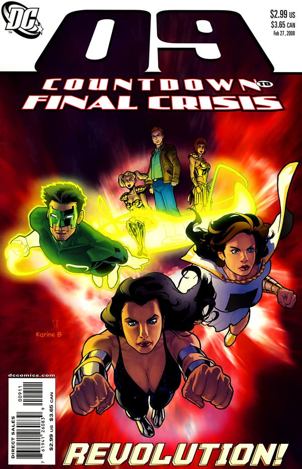 Countdown to Final Crisis #9