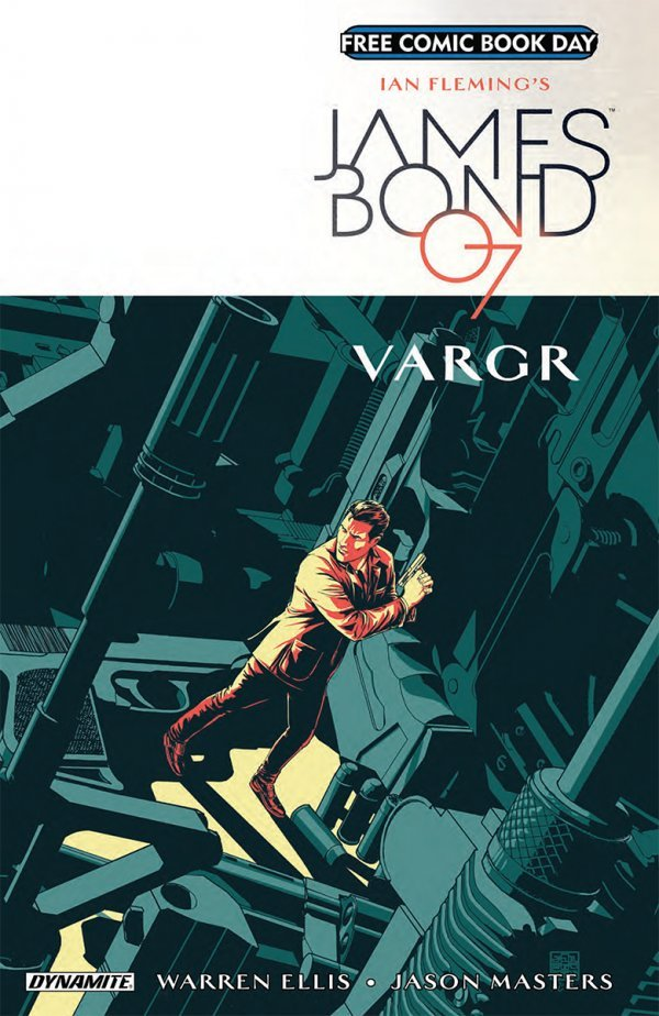 Free Comic Book Day 2018: James Bond: Vargr #1