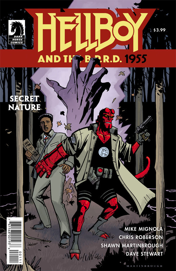 Hellboy and the B.P.R.D.: 1955—Secret Nature #1