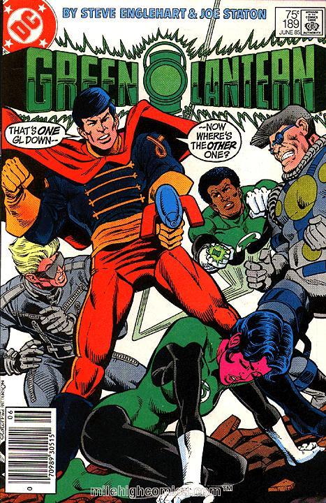 Green Lantern #189
