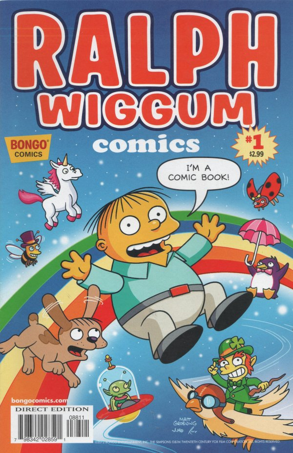 Ralph Wiggum Comics #1
