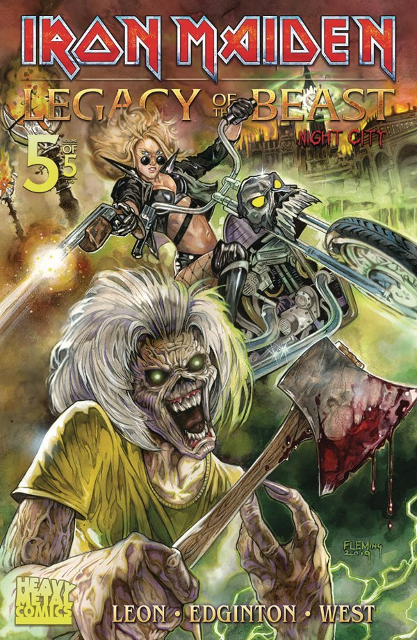 Iron Maiden: Legacy of the Beast #5