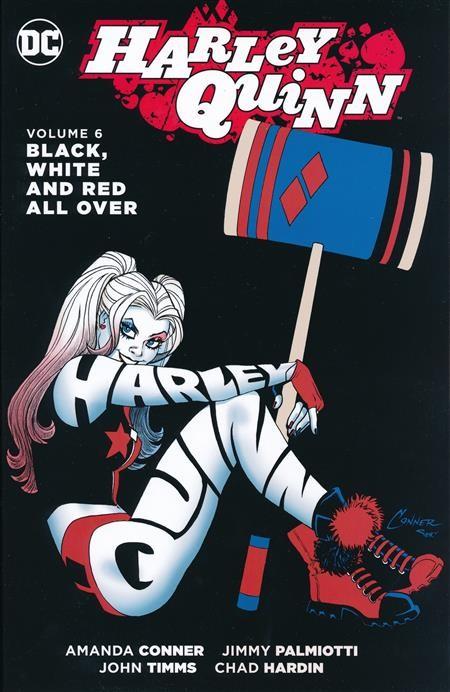 Harley Quinn Vol. 6: Black White & Red All Over TP
