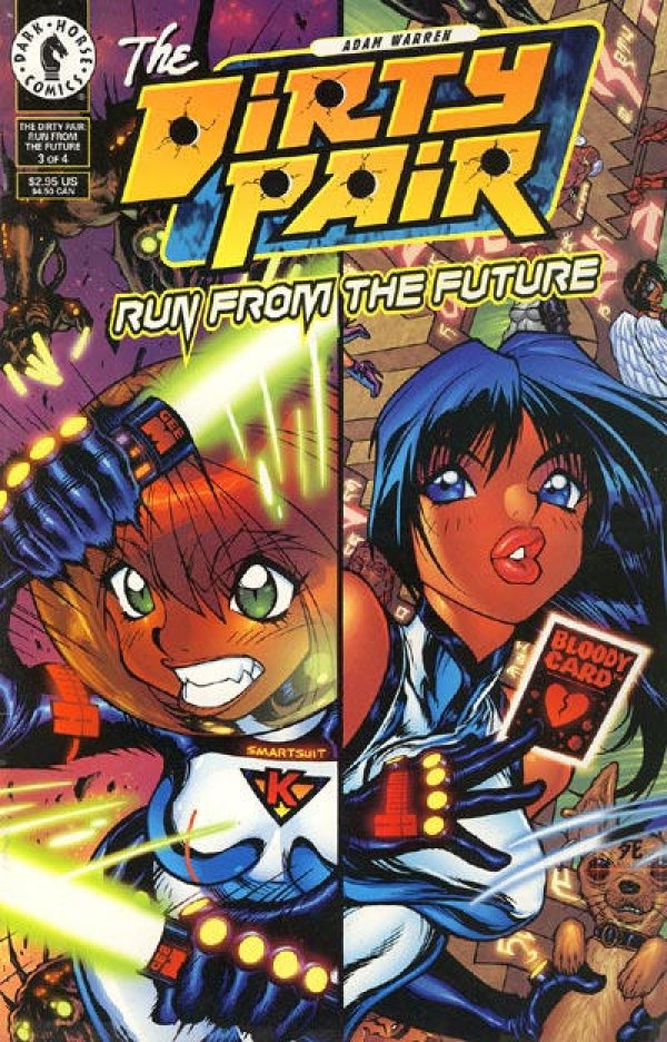 The Dirty Pair: Run From The Future #3