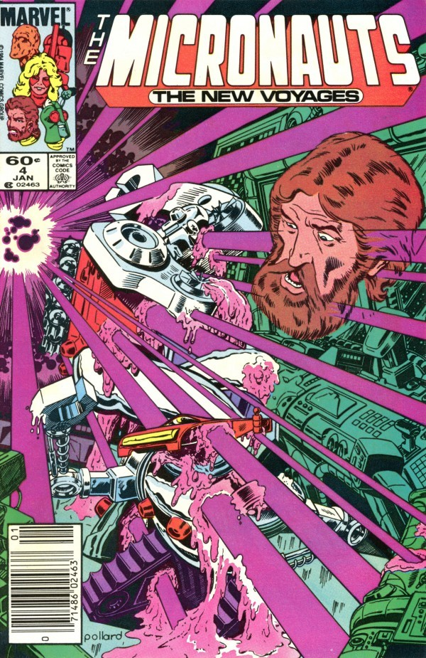 Micronauts: The New Voyages #4