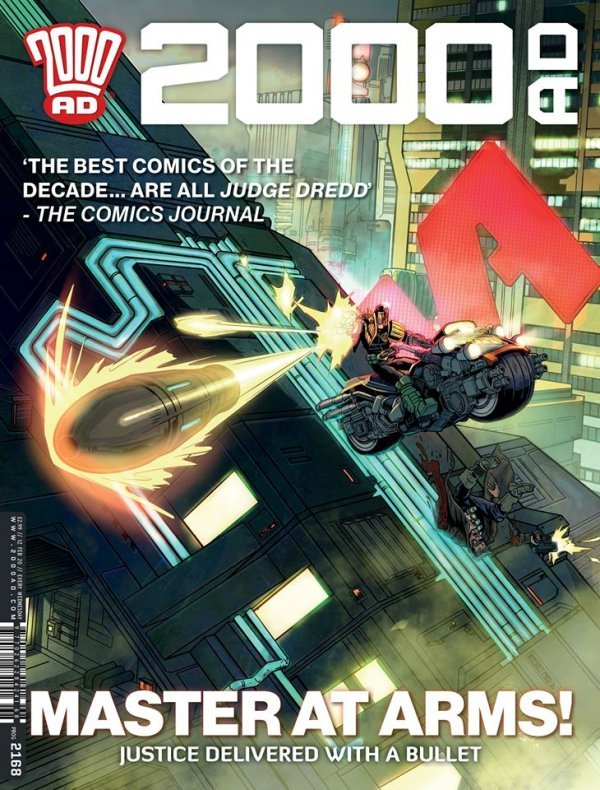 2000 AD #2168 review