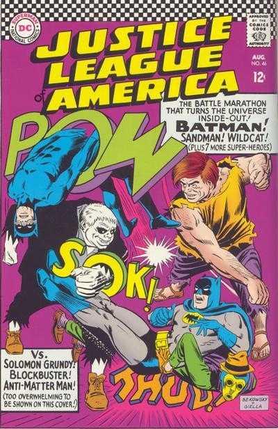 Justice League of America #46