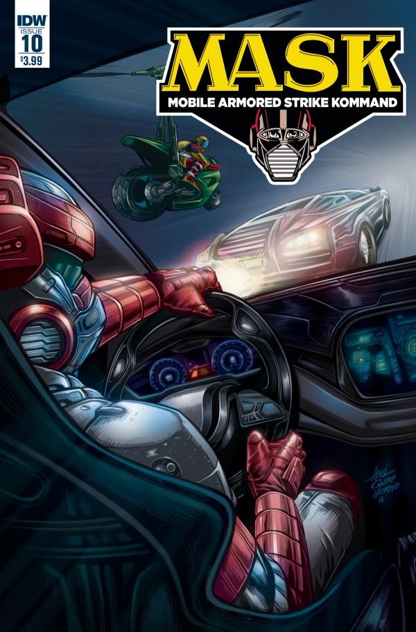 MASK: Mobile Armored Strike Kommand #10