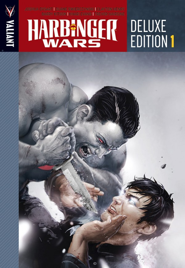 Harbinger Wars Deluxe Edition Vol. 1 HC