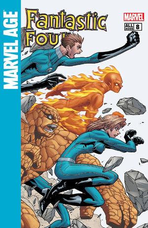 Marvel Age Fantastic Four #8