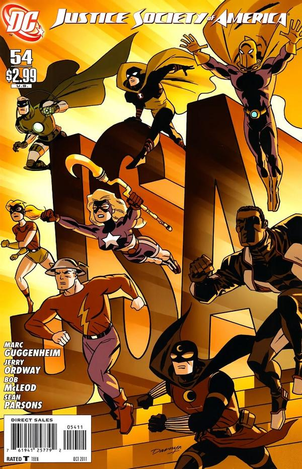 Justice Society of America #54