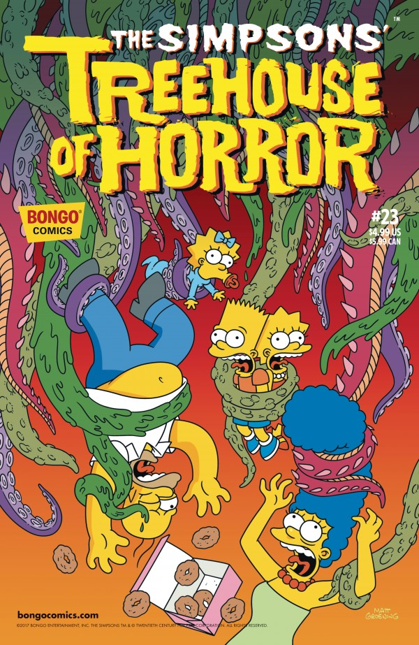 The Simpsons' Treehouse of Horror #23 review