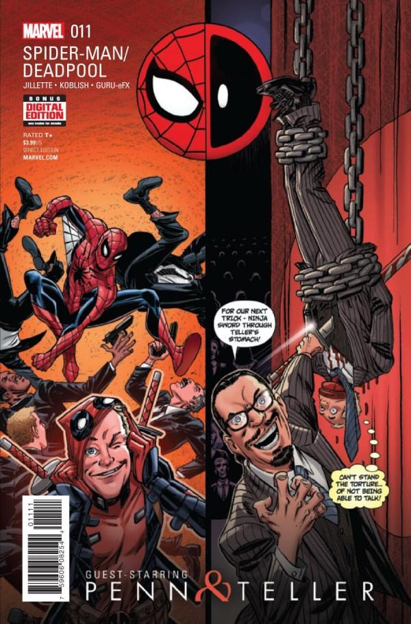 Spider-Man / Deadpool #11