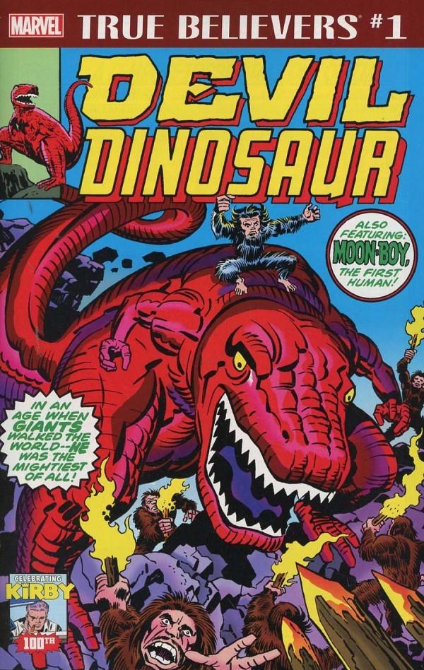 True Believers: Kirby 100th - Devil Dinosaur #1